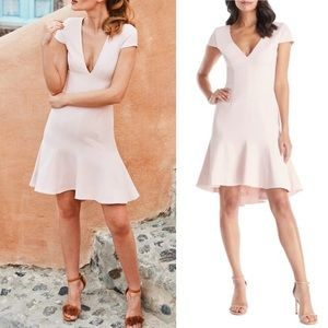 Dress Population Bettie Dress Powder Blush Pink XL